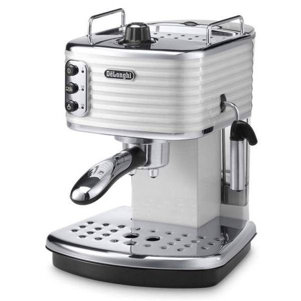 Espresso DeLonghi Scultura ECZ351W recenzie