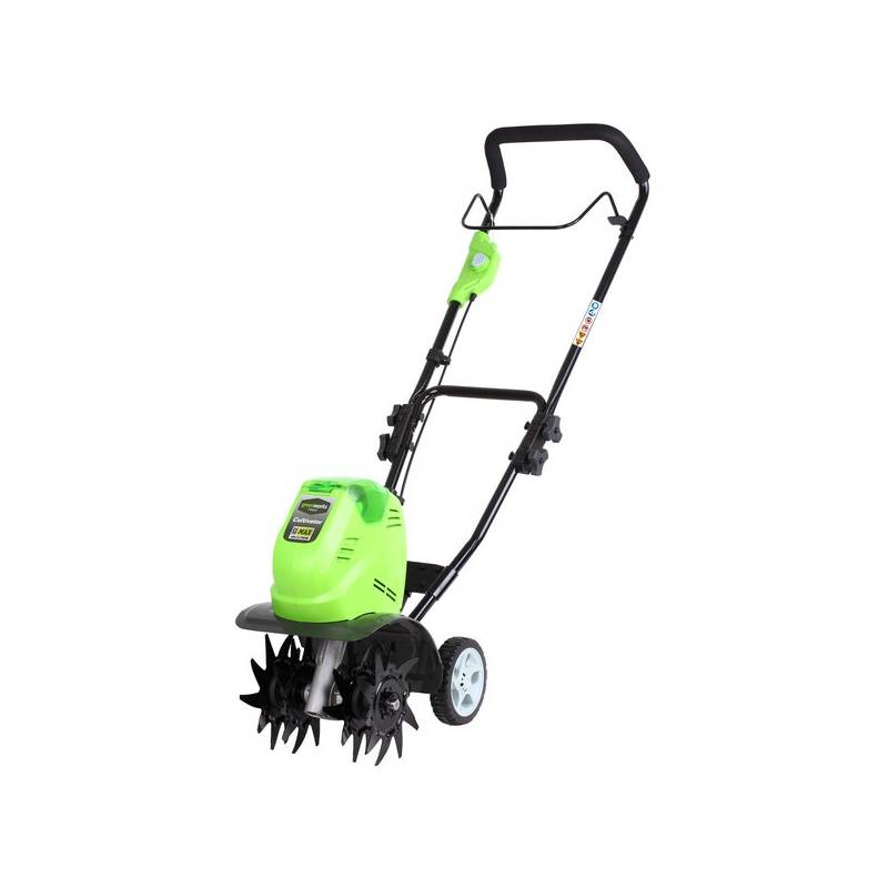 Greenworks G40TL recenzie