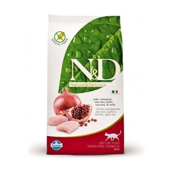 N-D Grain Free CAT Adult Chicken Pomegranate recenzie