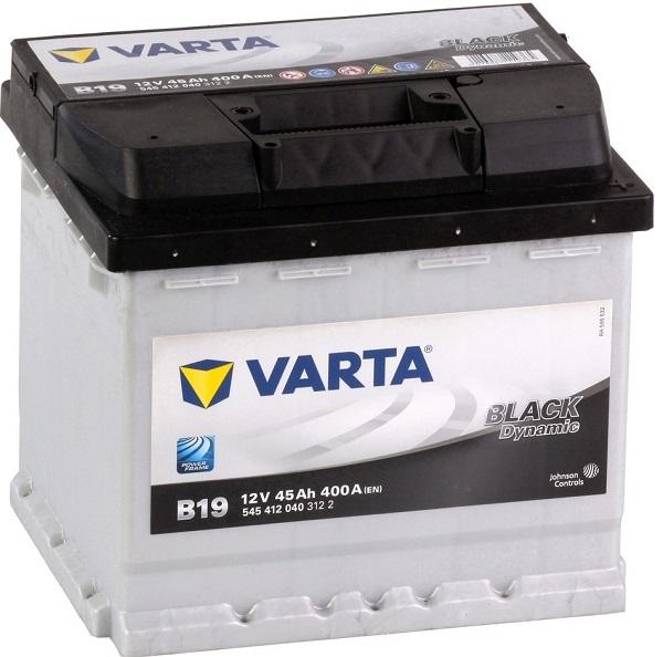 Varta Black Dynamic 12V 45Ah 400A recenzie