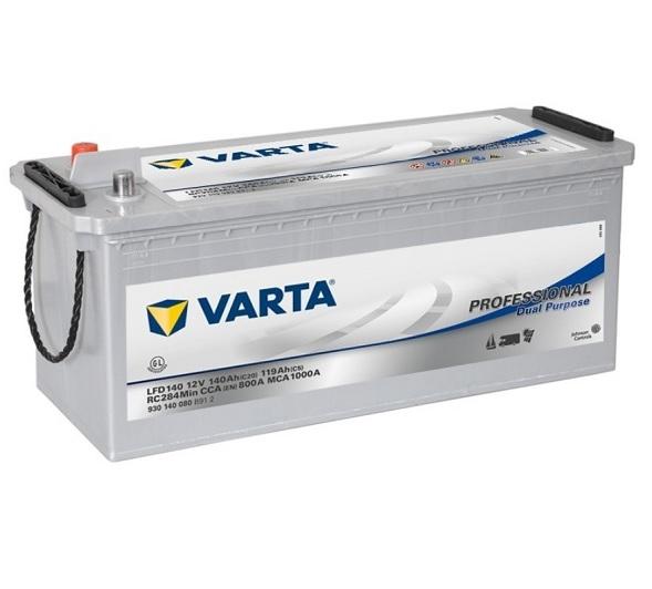 Varta Professional DC 12V 140Ah 800A recenzie