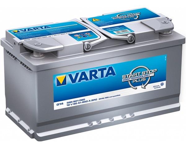 Varta Start-Stop Plus 12V 95Ah 850A recenzie