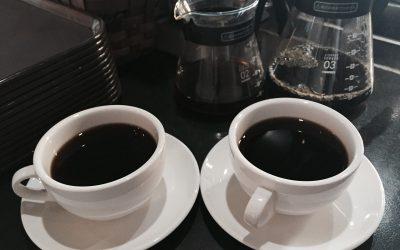 prekvapkávací kávovar