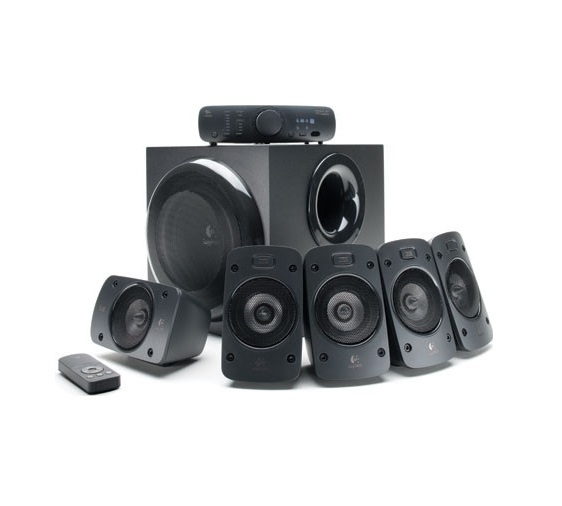 Logitech Surround Sound Speakers Z906 recenzie