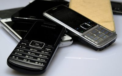 tlačidlový mobil