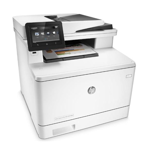 HP Color LaserJet-Pro M477fdw recenzie