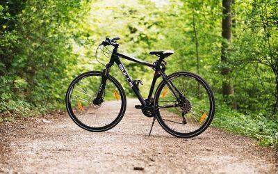 crossový trekingový bicykel