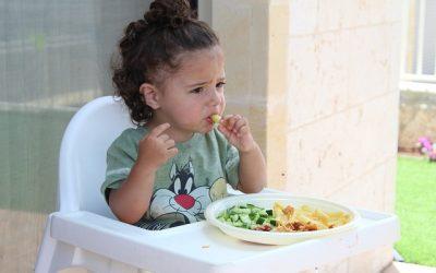 detská jedálenská stolička