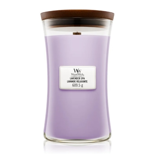 WoodWick Lavender Spa recenzie a test