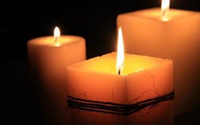 vonná sviečka