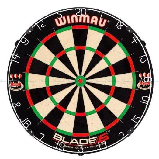 Winmau Blade 5 recenzie