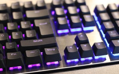 herná klávesnice