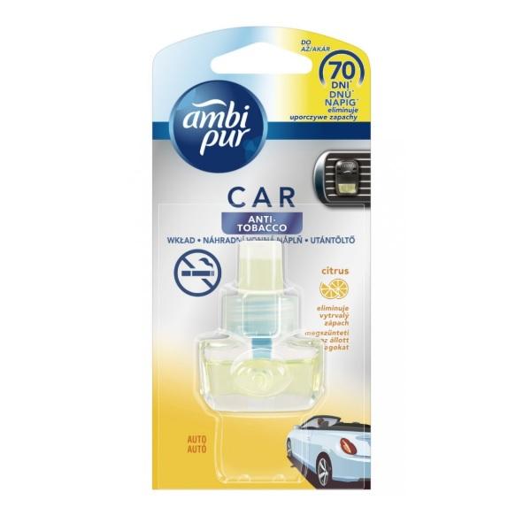 Ambi Pur Car Anti Tobacco recenzie a test