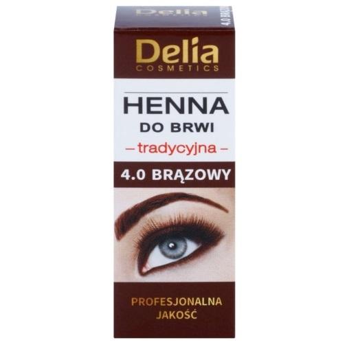 Delia Cosmetics Henna recenzie a test