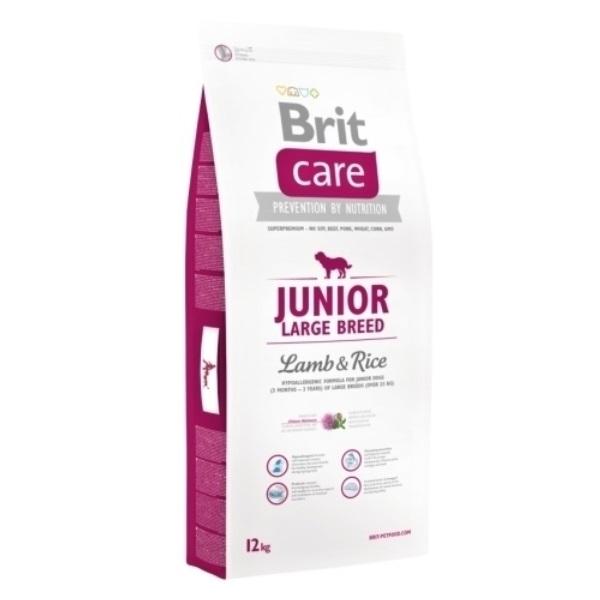 Brit Care Junior Large Breed Lamb & Rice recenzie