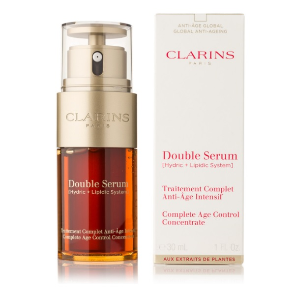 Clarins Double Serum Complete Age Control recenzie a test